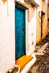 Old Village, Alonnisos (Kevin R Thornton) Tags: d90 alonnisos nikon alonissos street alonnissos northernsporades architecture greece oldtown travel oldvillage door decentralizedadministrationof decentralizedadministrationofthessalyandcentralgreece gr