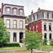 Second Empire Style Houses, Lafayette Square, St. Louis