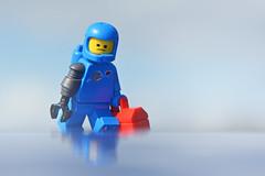 LEGO Benny (weeLEGOman) Tags: the lego movie 2 benny 80s spaceman 1980s minifigure minifigures toys toy macro photography uk nikon d7100 105mm rob robert trevissmith weelegoman