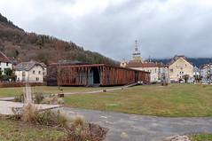 Casino (Salins-les-Bains, France)-100 (MMARCZYK) Tags: france bourgogne franche comté salins les bains architecture jura 39 malcotti roussey casino corten rouillé acier