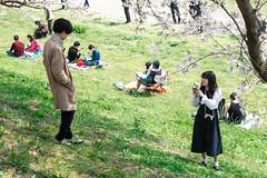During shooting - Sewari-tei, Yawata, Kyoto (Ogiyoshisan) Tags: japan japanese 日本 京都 kyoto spring 春 cherryblossom sakura 桜 people girl