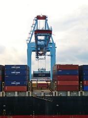Conti Basel at Port of Mobile (Stabbur's Master) Tags: alabama cruising carnivalcruiseline ship cruise mobileportcranes shipandcranes containership cargoship contibasel mobile portofmobile