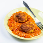 Meatballs with Tomato Stew served on the plate thumbnail