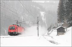 1216 022, Sankt Jodok am Brenner (AT), 04/01/19 (bontybermo402) Tags: taurus 1216 1216022 obb siemens brenner brennerbahn ec ec85 munich bologna münchen
