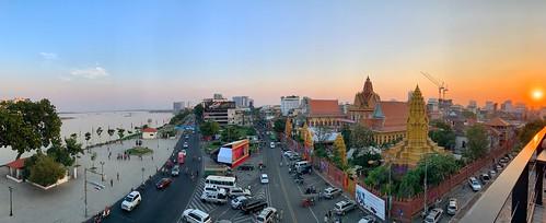 Phnom Penh - Cambodia Sunset