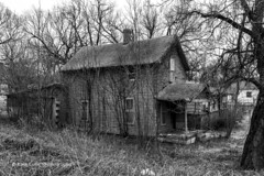 The Old Place (Kool Cats Photography over 11 Million Views) Tags: house oklahoma outdoor old neglected abandoned architecture vintage landscape blackandwhite bw