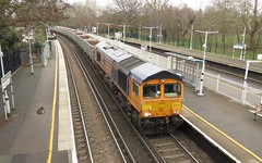 66752 Wandsworth Common (localet63) Tags: class66 gbrailfreight 6k41 wandsworthcommon 66752 bogieboxes