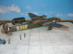 "Handley Page HP 54 Sparrow ""Legionara"" Mk II (modelldoc) Tags: royal asir gforce handley page sparrow plastic kit 172 valom 271 squadron legionara"