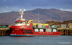 Gina Mary (Rollingstone1) Tags: ginamary ship vessel boat marine inverlussa mull craignure mallaig scotland hills mountains sea ocean sky water maritime outdoor vivid colour
