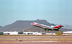 USAir Boeing 727 in Tucson (craigsanders429) Tags: usair 727 boeing727 tucsonarizona aircraft airlines airliners airplanes airports mountains arizona jet jetliner