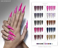 Whore Couture 9 | March 1st (Kah Melody | ASCENDANT) Tags: whorecouturefair wcf9 ascendant nails bento slink belleza maitreya polish