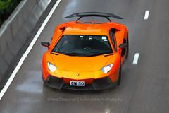 "Lamborghini, Aventador"", Wan Chai, Hong Kong (Daryl Chapman Photography) Tags: cm50 lamborghini aventador italian pan panning hongkong china sar wanchai canon 5d mkiv 70200l f28 car cars carspotting carphotography auto autos automobile automobiles rain wet spray lp7504 superveloce"
