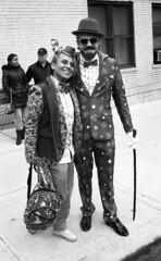 Sunnyside/Woodside St. Pat's For All Parade (neilsonabeel) Tags: nikonn90s nikon nikkor blackandwhite film analogue queens newyorkcity parade