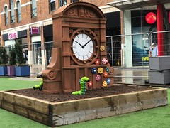 Model of Bank Buildings Clock Turret in Castle Place, Belfast (John D McDonald) Tags: iphone appleiphone iphone7plus appleiphone7plus belfast castleplace castlejunction northernireland ni ulster geotagged bankbuildings clockturret clocktower