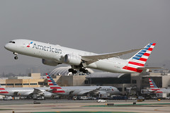 American Airlines Boeing 787-9 Dreamliner N828AA (Mark Harris photography) Tags: spotting lax la canon 5d boeing 787 aa american