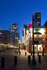 Main Street to 609 Main at Texas (Mabry Campbell) Tags: 2019 march houston texas downtown skyline harriscounty iphone pickardchilton hines usa