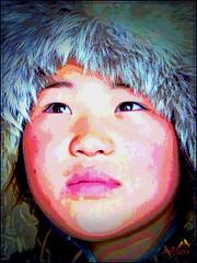 When I grow up.....,mongolia-1747390_1920 (SØS: Thank you for all faves + visits) Tags: boy color digitalartwork art kunstnerisk manipulation solveigøsterøschrøder artistic eyes paintings 100views