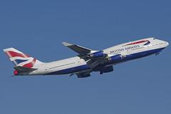 G-CIVX (c) 25/02/19 Heathrow (EGLL) (Lowflyer1948) Tags: gcivx boeing b747436 250219 heathrow thegardensbedfont britishairways