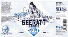 Netherlands - Baxbier (Grnoningen) & SOLT (cigpack.at) Tags: niederlande holland netherlands solt baxbier groningen thomasvanseeratt blondbier bier beer brauerei brewery label etikett bierflasche bieretikett flaschenetikett