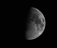 Waxing Gibbous Moon 13 Apr 19 (David_Pickles) Tags: astronomy solarsystem moon