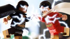 Black Adam vs Billy Batson (Andrew Cookston) Tags: lego dc comics black adam shazam captain marvel brothersfigure christo7108 andrew cookston andrewcookston