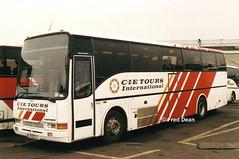 Bus Eireann VC63 (97D2249). (Fred Dean Jnr) Tags: buseireann broadstonegaragedublin february1998 volvo b10m caetano algarveii cietoursinternational broadstonedepotdublin buseireannbroadstonedepot broadstone vc63 97d2249