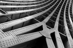 Urban rollercoaster (joephoto uk) Tags: blackfriars bridge london arches curves girders