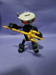 Black manta deformed action figure (Tony the light) Tags: trident aquaman blackmanta dccomics lego
