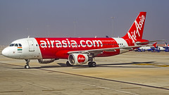 Air Asia India Airbus A320 VT-PNQ Bangalore (BLR/VOBL) (Aiel) Tags: airasia airasiaindia airbus a320 vtpnq bangalore bengaluru canon60d canon24105f4lis