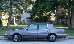 1993 Chrysler Dynasty LE (D70) Tags: burnaby britishcolumbia canada 1993 chrysler dynasty le