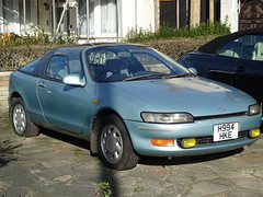 1991 Toyota Sera 1500 (Neil's classics) Tags: vehicle 1991 toyota sera 1500 abandoned car