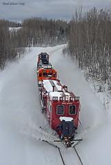 Highway 23 (Missabe Road) Tags: bnsf snowdozer 940022 2647 1511 highway23 lakessub