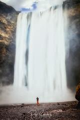 Skógafoss (PepinAir) Tags: islandia tema travel waterfall agua aigua cascada viajes viatges water suðurland is landscape portrait iceland