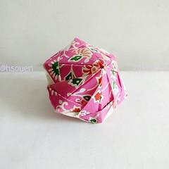 Dual Wedges (harukasouen99) Tags: origami modularorigami unitorigami papercraft paperfold paperart paperfun papiroflexia foldingpaper paperfolding arteenpapel papirodobradura handmade diy 折紙 折り紙 おりがみ