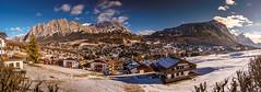 Cortina d'Ampezzo (K.H.Reichert [ not explored ]) Tags: schnee olympischenwinterspielevon1956 cortinad'ampezzo südtirol southtyrol olympicgames1956 winter berge berg dolomiten reise alpen panorama