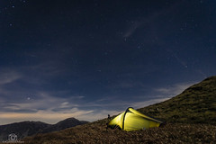 Clearing Skies. (CamraMan.) Tags: hillebergakto carlingknott lakedistrict wildcamping astro sonya7 canon1740mmlusm fotodiox benro loweswater cumbria ©davidliddle ©camraman