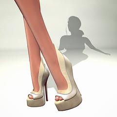 LuceMia - SlackGirl (2018 SAFAS AWARD WINNER - Favorite Blogger -) Tags: on9event slackgirl shoes exclusive event sl secondlife mesh fashion creations blog beauty hud colors models lucemia