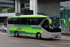 PC8557C, Raffles Avenue, Singapore, October 14th 2018 (Southsea_Matt) Tags: pc8557c yutong swt rafflesavenue singapore october 2018 autumn canon 80d sigma 1850mm bus omnibus coach transport vehicle