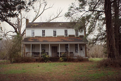 back in the fields (History Rambler) Tags: old abandoned antebellum house home rural south southern lost forgotten history historic plantation decay georgian federal architecture illstartpacking betterpackbatrepellent batstweetybirds sadlytweetyhadexpired illletyougofirstillfollow