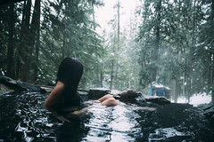 St Leon (Lichon photography) Tags: hot spring canada canadian woman water winter cold lichon lichonphotography long hair kayla hotsprings outdoor