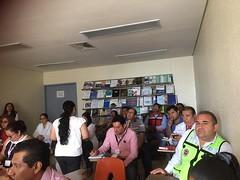 """Dando continuidad a los trabajos del grupo técnico del Programa Hospital Seguro capacitamos al personal del Hospital Regional """"Presidente Juarez"""" del ISSSTE"""
