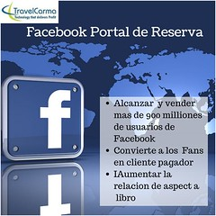 Motor de Reservas de Facebook (travelcarmalatam) Tags: motor de reservas facebook travelcarma