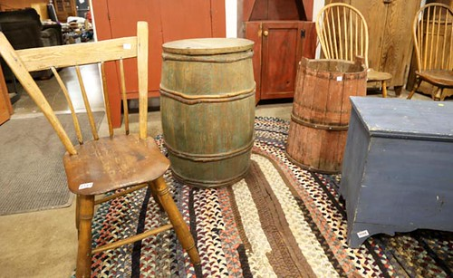 Green Wooden Barrel ($134.40)