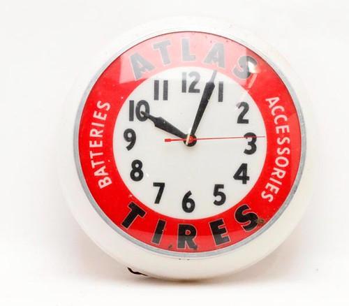Atlas tire clock ($257.60)