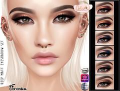 [LeLuck]DeepMatt Eyeshadow Veronica (Sunkora) Tags: genus catwa omega applier event leluck new matt eyeshadow ebento