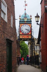 Eastgate Clock (sfryers) Tags: vr 1897 victorian clock turret tower arch civic architecture historic city chester smc pentaxfa 35mm 12