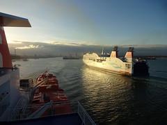 Dublin Port (ee20213) Tags: stenaline stenaadventura stenasuperfast dublinport ireland irishsea ferry