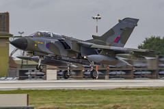 RAF Tornado GR.4 ZG752 Final Landing (Mark_Aviation) Tags: raf tornado gr4 zg752 final landing last ever farewell enthusiast day marham camo scheme special paint original gr4t swept wings touch go takeoff overshoot military aircraft airplane jet loud afterburner