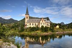 Kabelvag (Enrica F) Tags: kabelvag lofoten noruega nikon church iglesia