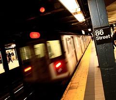 86th Street. (captures.in.time) Tags: nyc newyork newyorkcity urban urbanphotography urbanlandscape city cityphotography travel travelphotography metro subway underground metrocard dark train light mta usa ngc ngm tiles speed fast